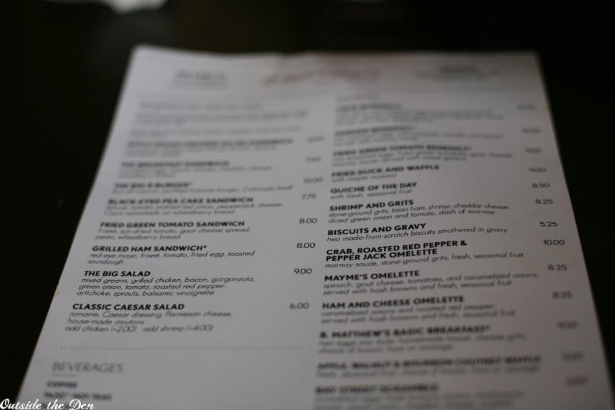 B. Matthews Eatery / Savannah, Georgia / OutsideTheDen.com